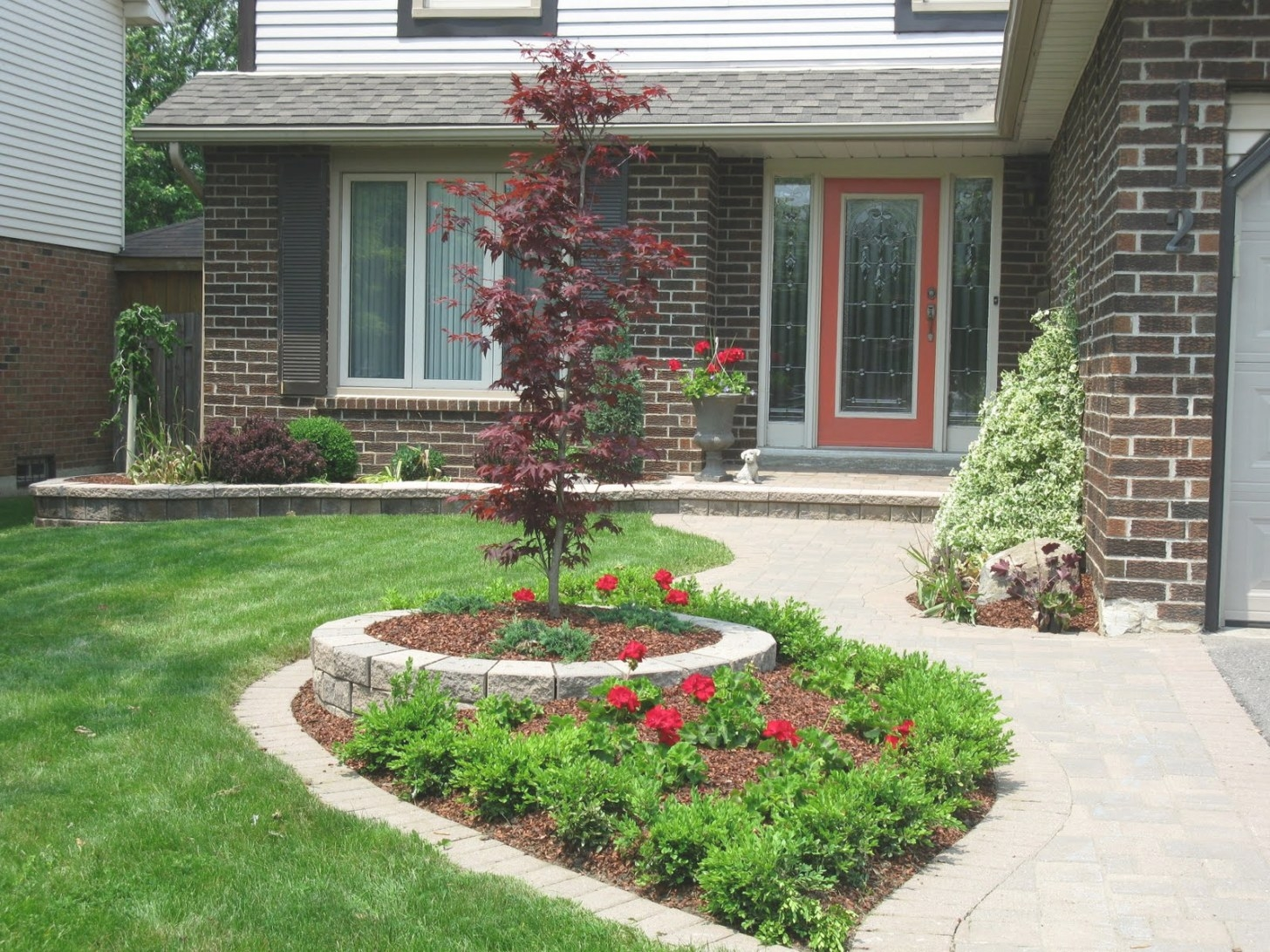 White Swan Homes And Gardens: Front Yard Makeover On Jones throughout Front Yard Landscaping Ideas