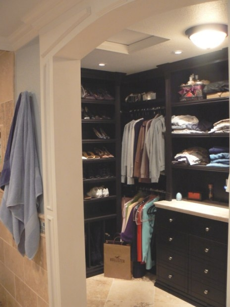 Who Put The Closet In The Bathroom? – Susan'S Reflections with regard to Walk Through Closet To Bathroom