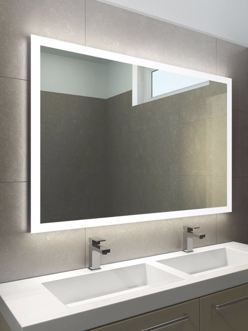 Wide Bathroom Mirrors, Halo Recessed Fixtures Halo Wide intended for Led Lighted Mirrors Bathrooms