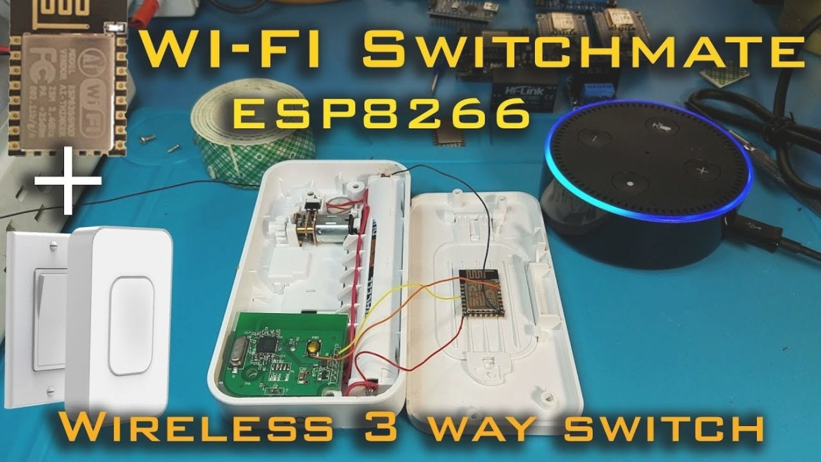 Wifi Switchmate| Wireless 3 Way Switch With Alexa in Wireless 3 Way Switch