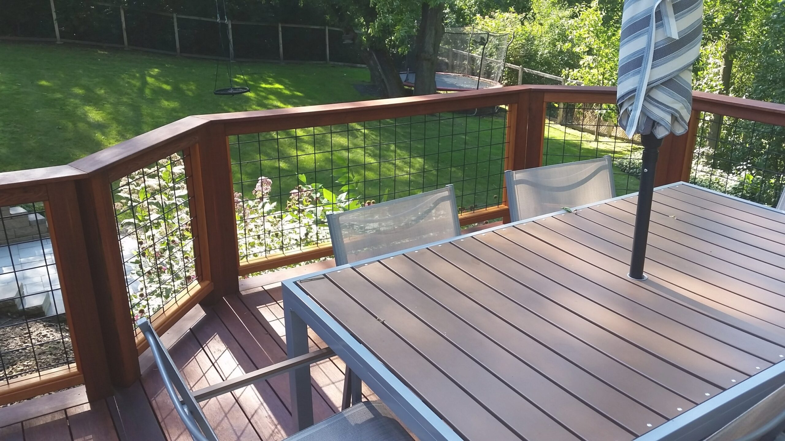 Wild Hog Railing | Weekes Forest Products inside Hog Wire Deck Railing