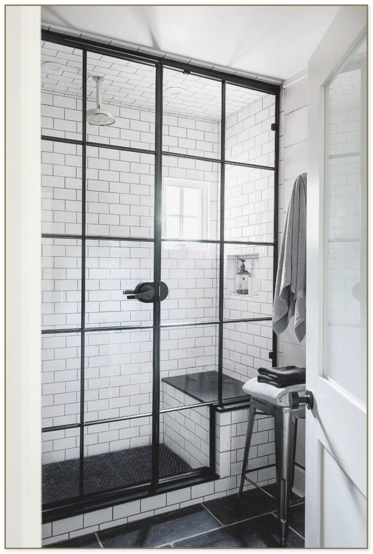 Window Pane Shower Door with regard to How Big Does A Walk In Shower Need To Be To Not Have A Door