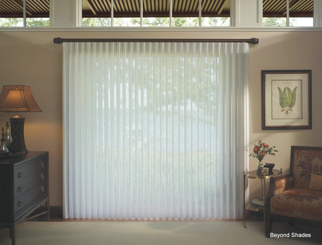 Window Treatment Ways For Sliding Glass Doors - Theydesign pertaining to Best Sliding Glass Doors
