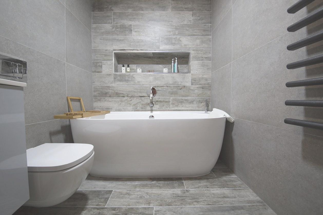 Wood Effect Bathroom Tiles And Panels - Porcelain regarding Porcelain Tiles For Bathrooms