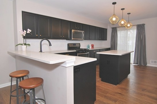 Would A Small Kitchen Look Good With Black Cabinets? throughout Black Kitchen Cabinets Small Kitchen