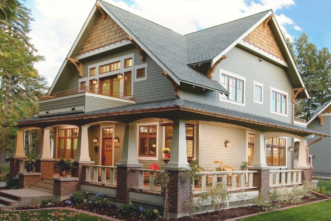 22+ Popular Collection Craftsman Style Home Colors inside Best Exterior Pictures Of Craftsman Style Homes