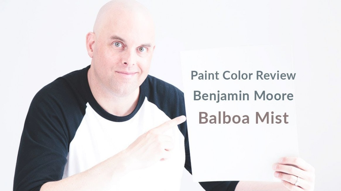 Benjamin Moore Balboa Mist Color Review throughout Balboa Mist Benjamin Moore