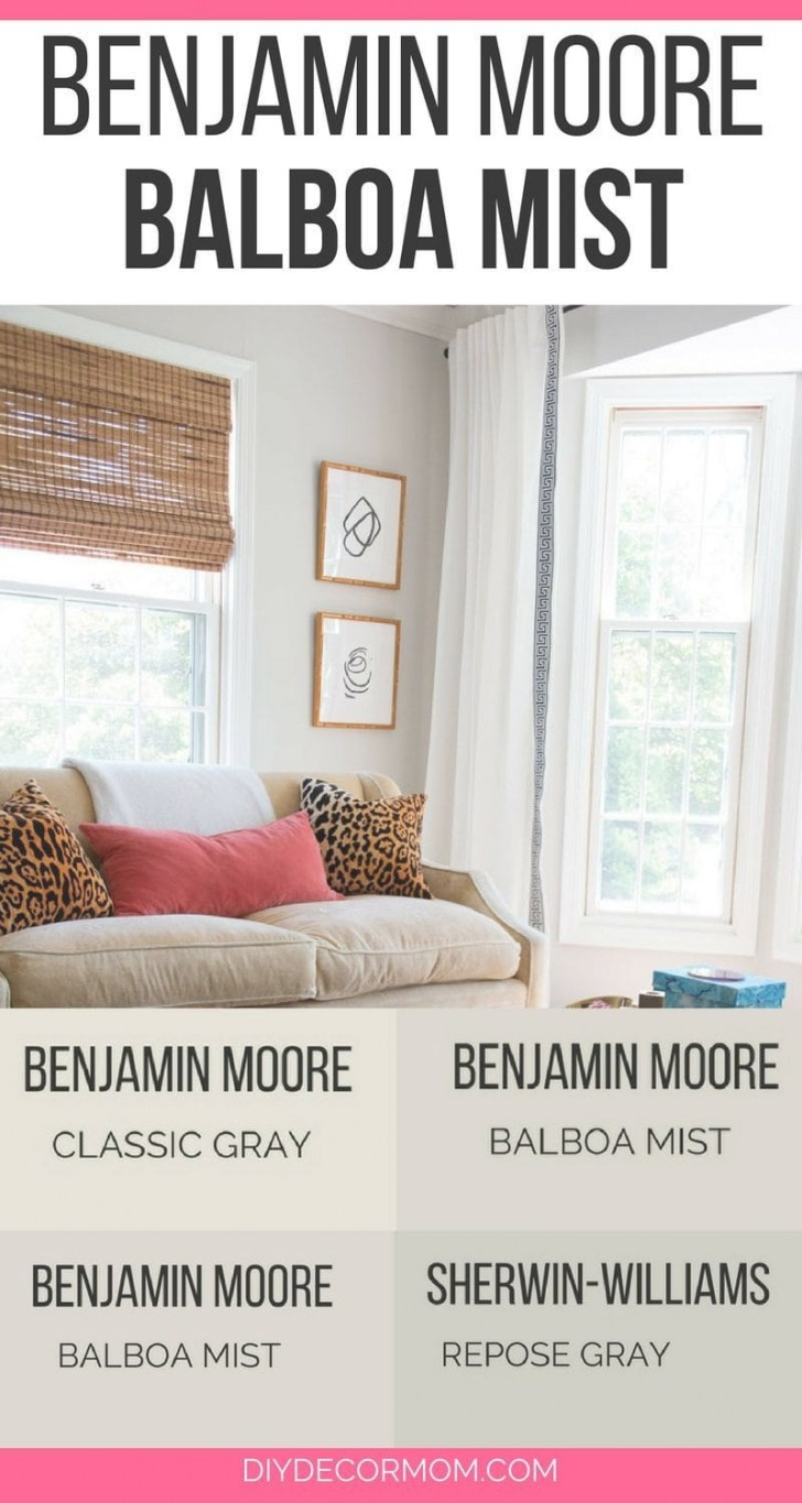 Benjamin Moore Balboa Mist Reviews In Real Homes for Balboa Mist Benjamin Moore