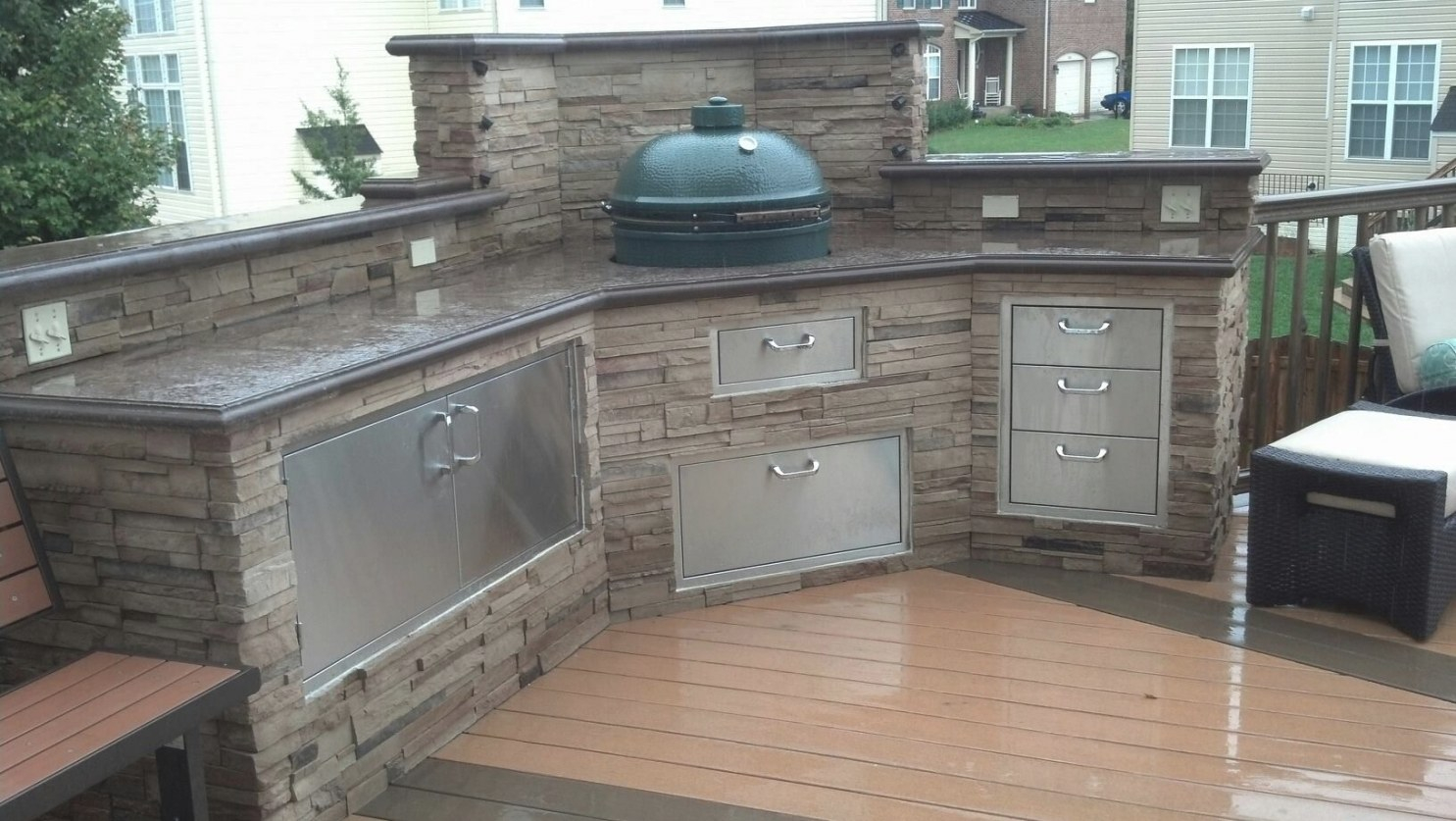 Bge Island | Big Green Egg Outdoor Kitchen, Outdoor Kitchen pertaining to Big Green Egg Outdoor Kitchen