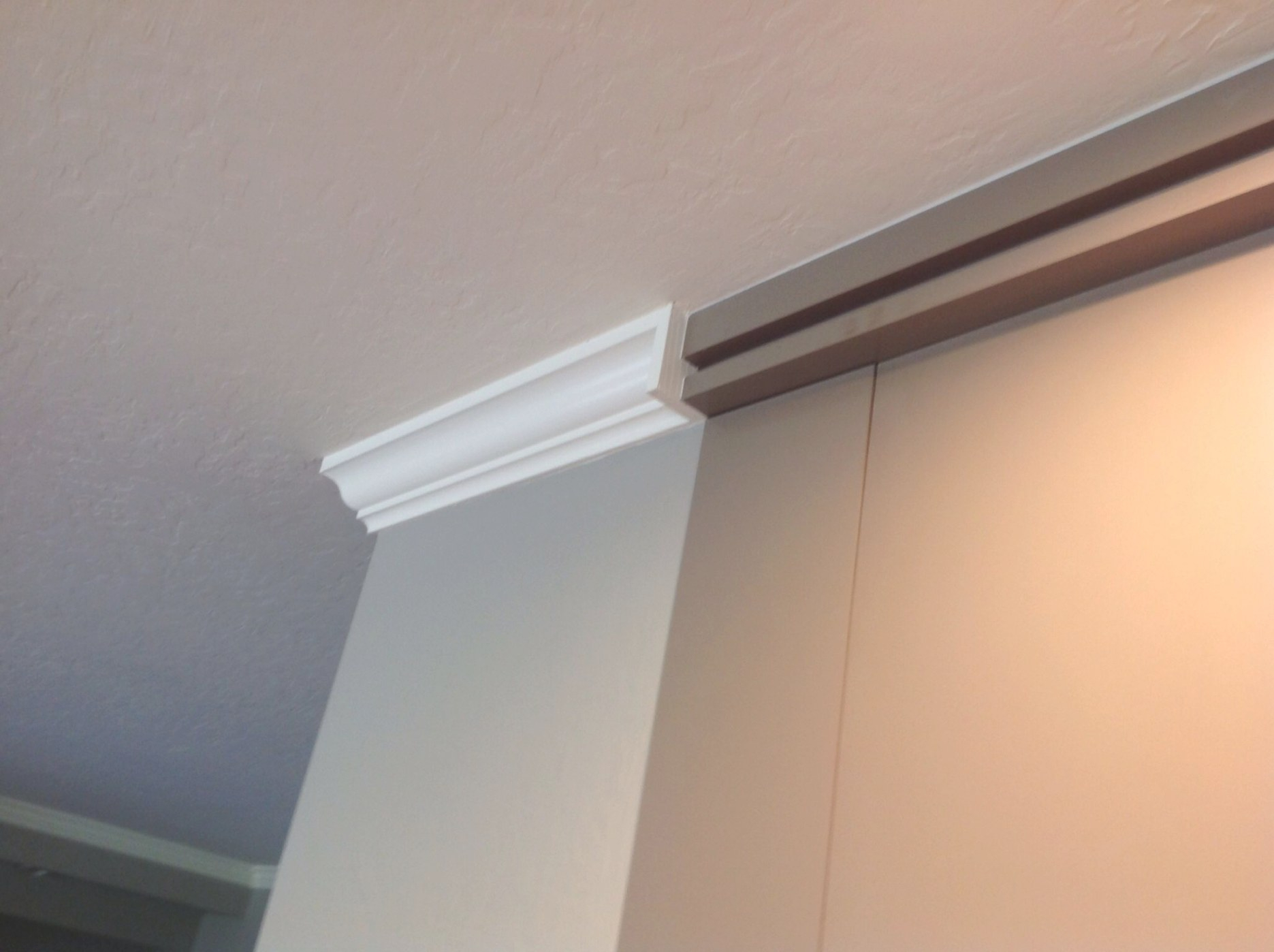 Blynth Stop Where Crown Molding Meets New Trim Detail Above intended for What Is Crown Molding