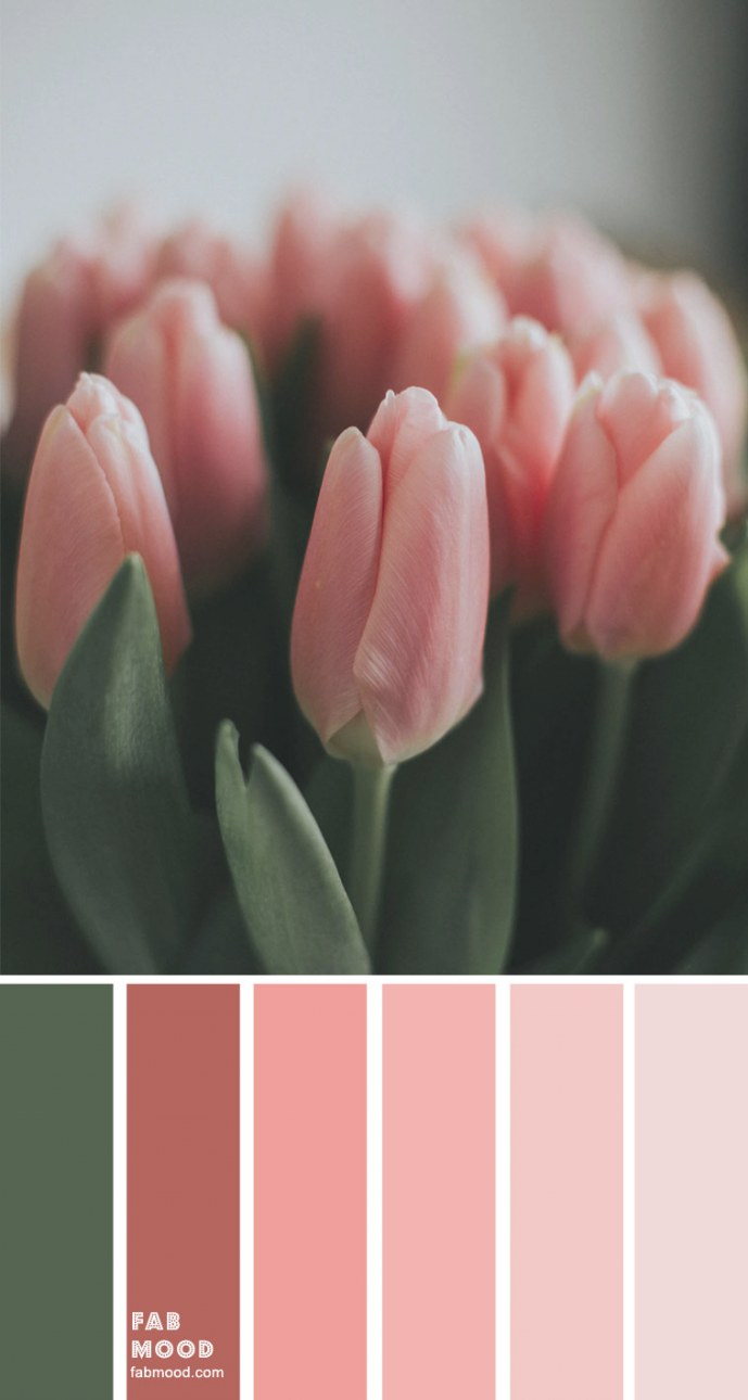 Color Inspiration : Green And Pink – Color Palette #33 1 with Inspirational Color Palette Green