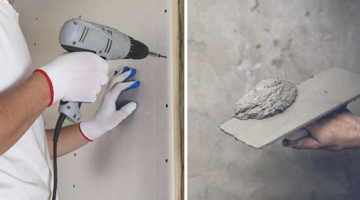 Drywall Vs Plaster Wall - What Are The Differences? » The with regard to Drywall Vs Plaster How To Tell