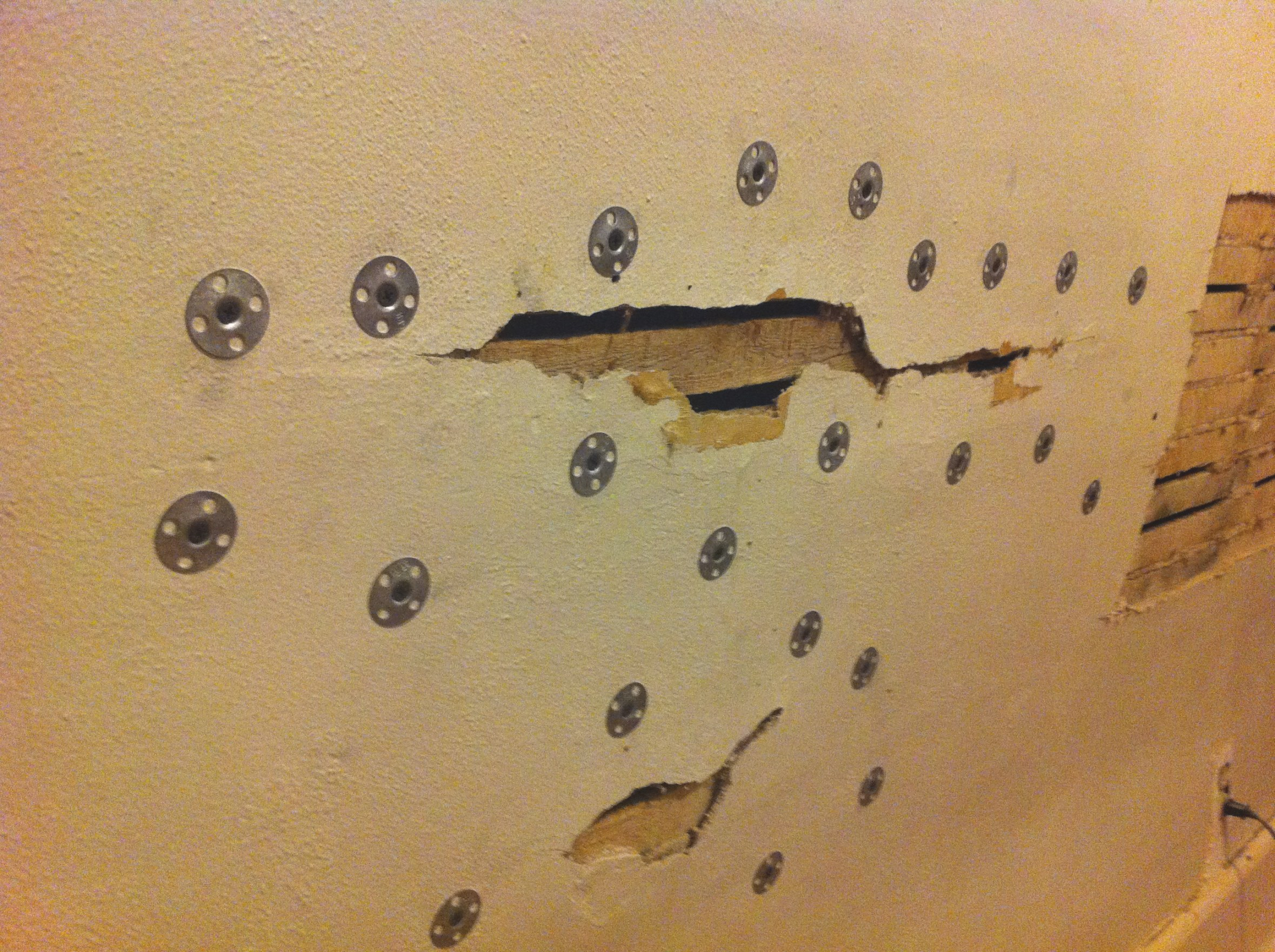 First Experience With Plaster Washers | The Brown House regarding Plaster Washers