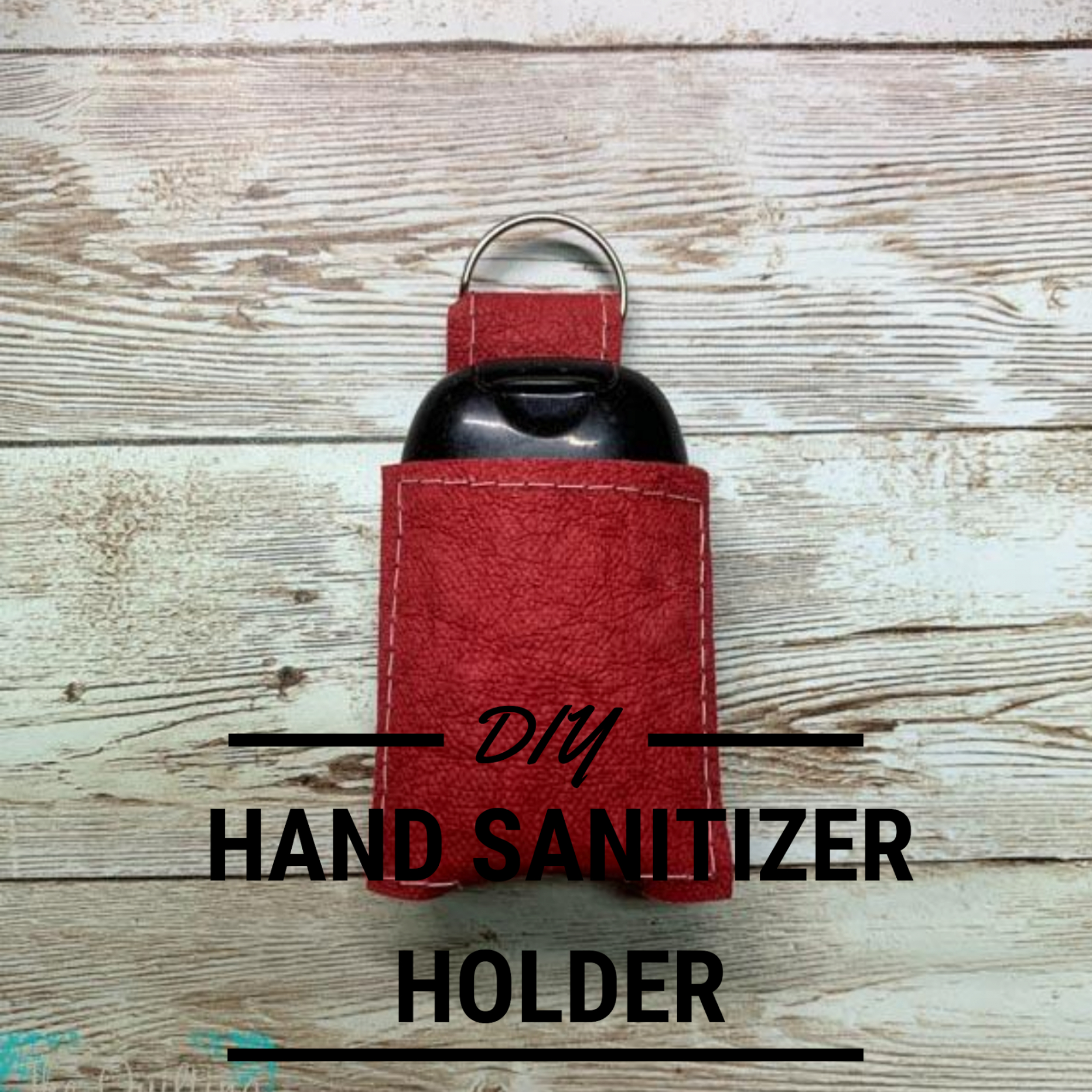 Hand Sanitizer Holder Pattern Svg And Pdf | The Quilting pertaining to Hand Sanitizer Holder Diy