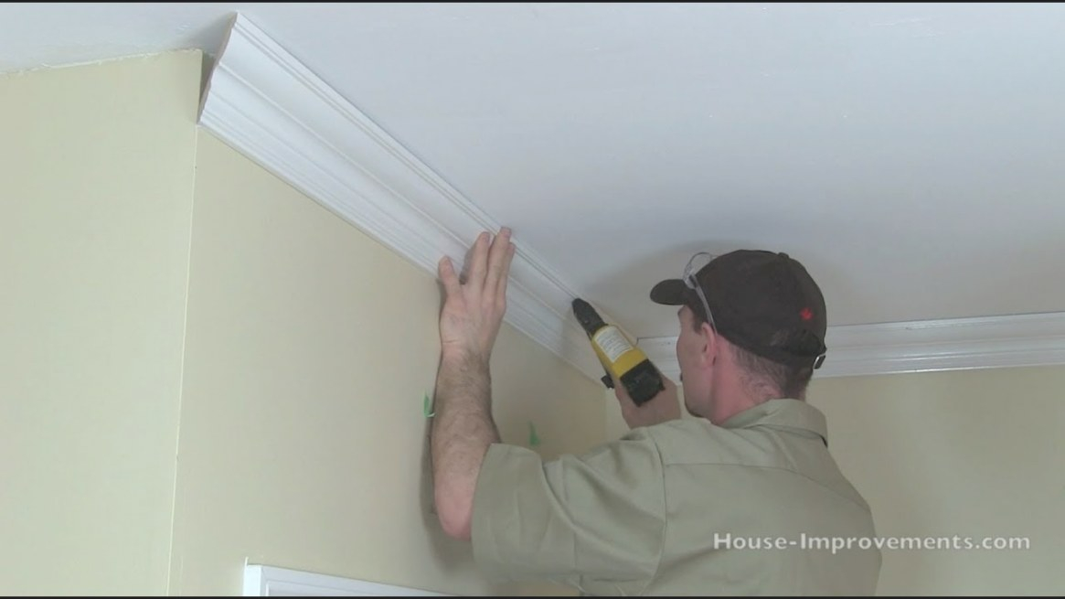 How To Cut & Install Crown Moulding pertaining to What Is Crown Molding