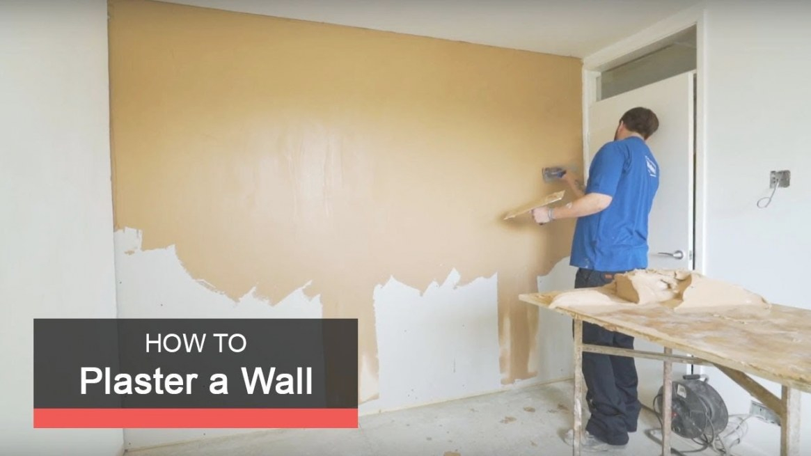 How To Plaster A Wall With Wickes regarding Plaster Walls