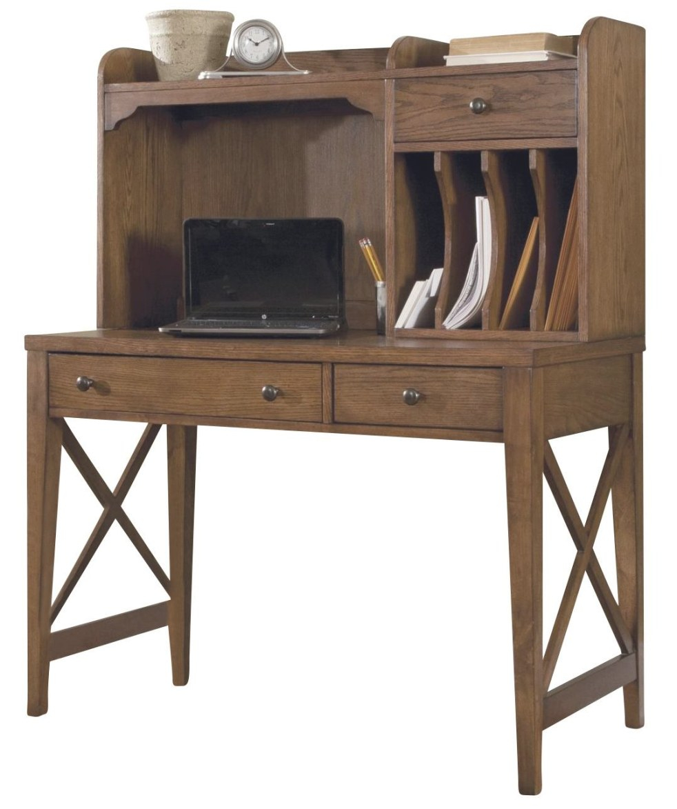 Liberty Hearthstone Writing Desk And Hutch In Rustic Oak Est Ship Time Is 4  Weeks inside Writing Desk With Hutch