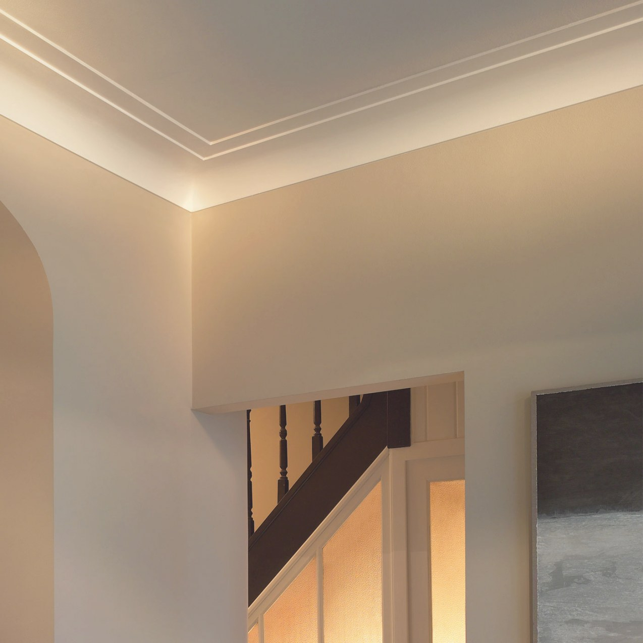 Miami Art Deco Crown Molding regarding What Is Crown Molding