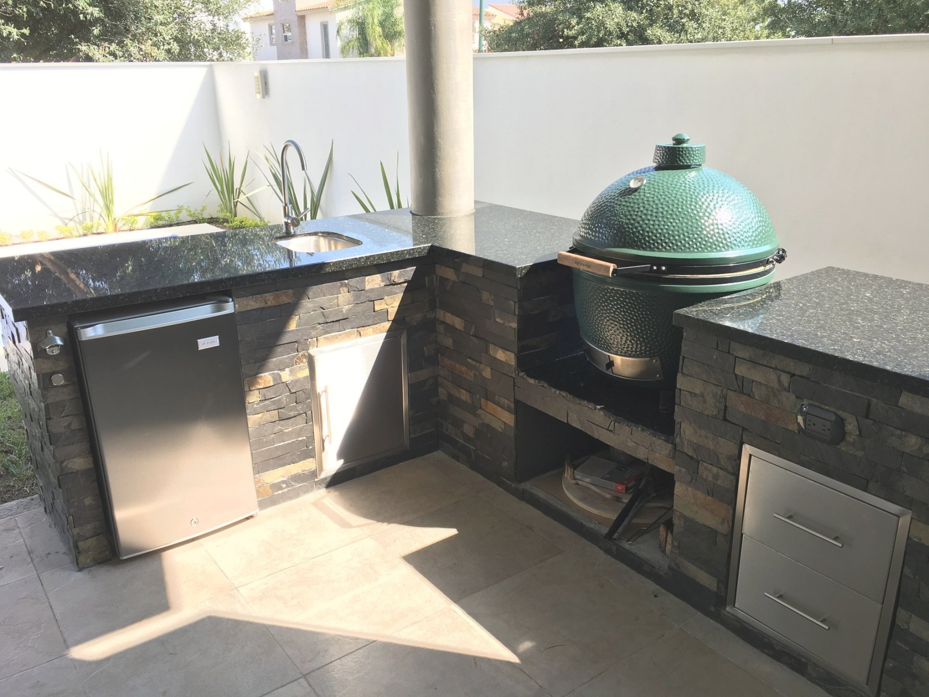 Outdoor Kitchen Help — Big Green Egg - Egghead Forum - The pertaining to Big Green Egg Outdoor Kitchen