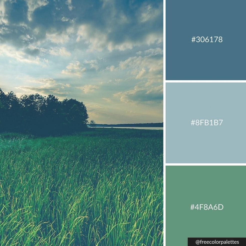Pin On Color Palettes inside Inspirational Color Palette Green