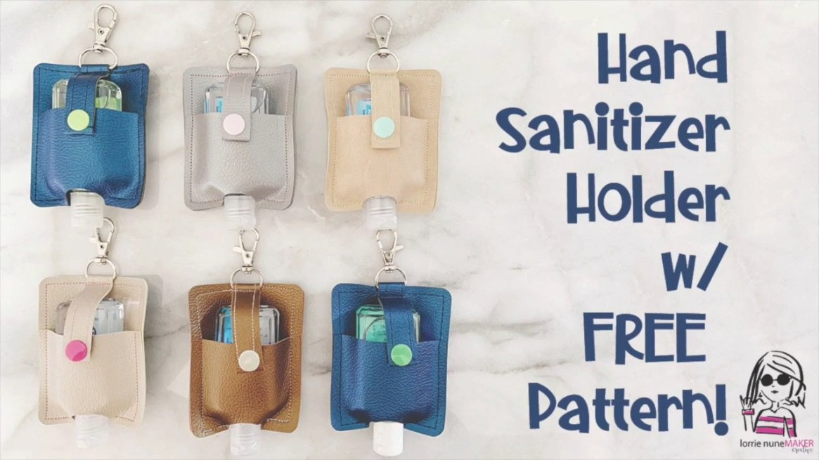 Pin On Cricut Projects within Hand Sanitizer Holder Diy