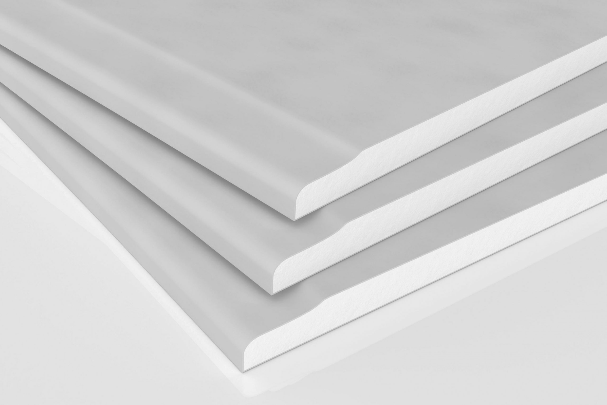 Recessed Edge Plasterboard 13*1200*2400. with regard to Plasterboard