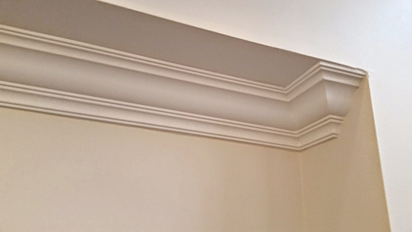 Stop! What Happens When Ceiling Ends? regarding What Is Crown Molding