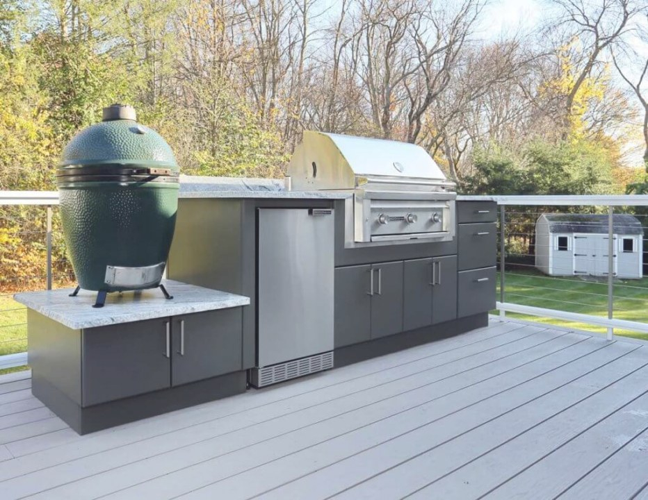 The Ultimate Cooking Experience: Big Green Egg - Werever inside Big Green Egg Outdoor Kitchen