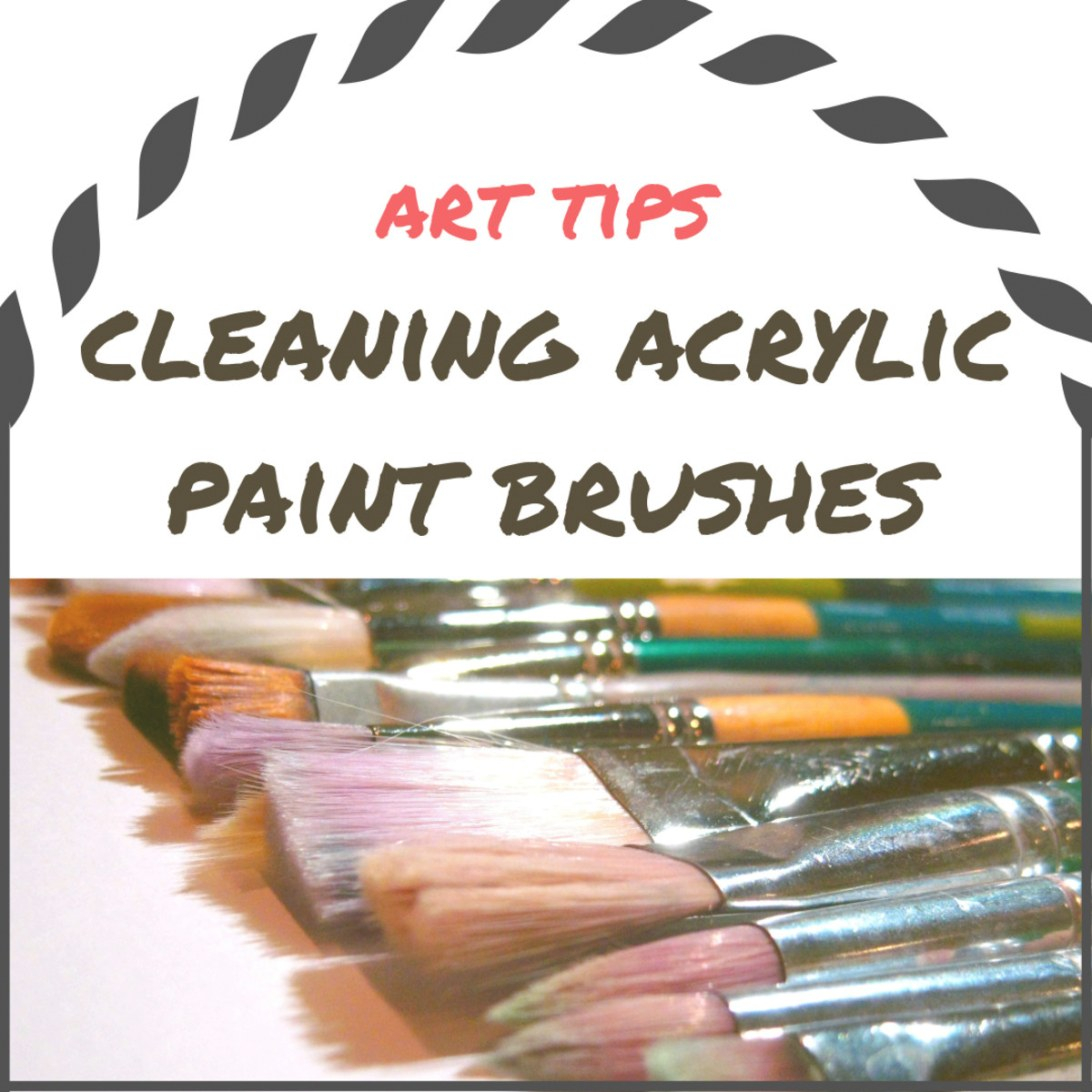 Tips For Cleaning Acrylic Paint Brushes - Feltmagnet - Crafts throughout How Long Is Paint Good For