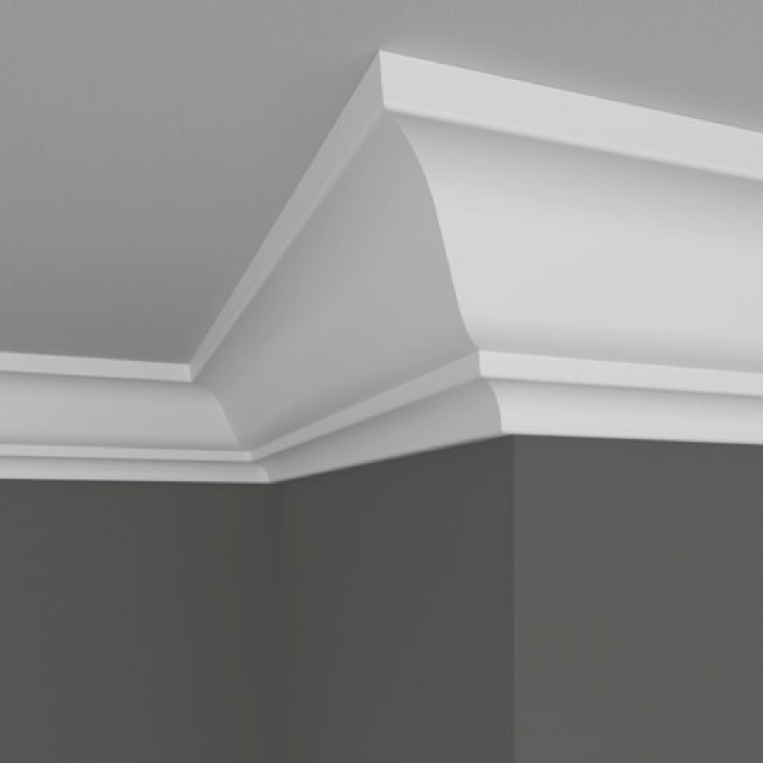 Tips For Painting Crown Molding White - Dengarden - Home And inside What Is Crown Molding
