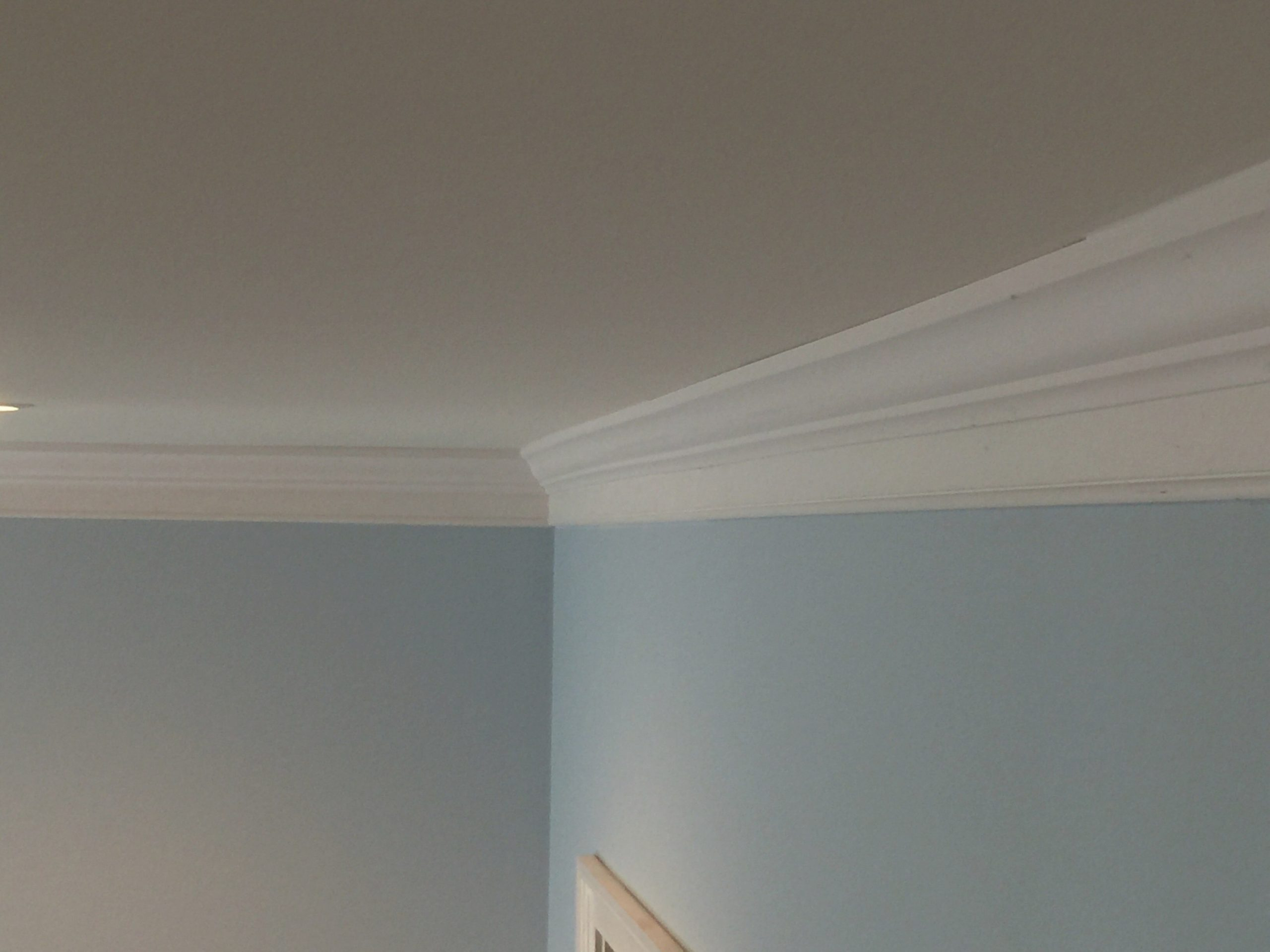 Two Piece Crown Molding - The Finishing Company within What Is Crown Molding