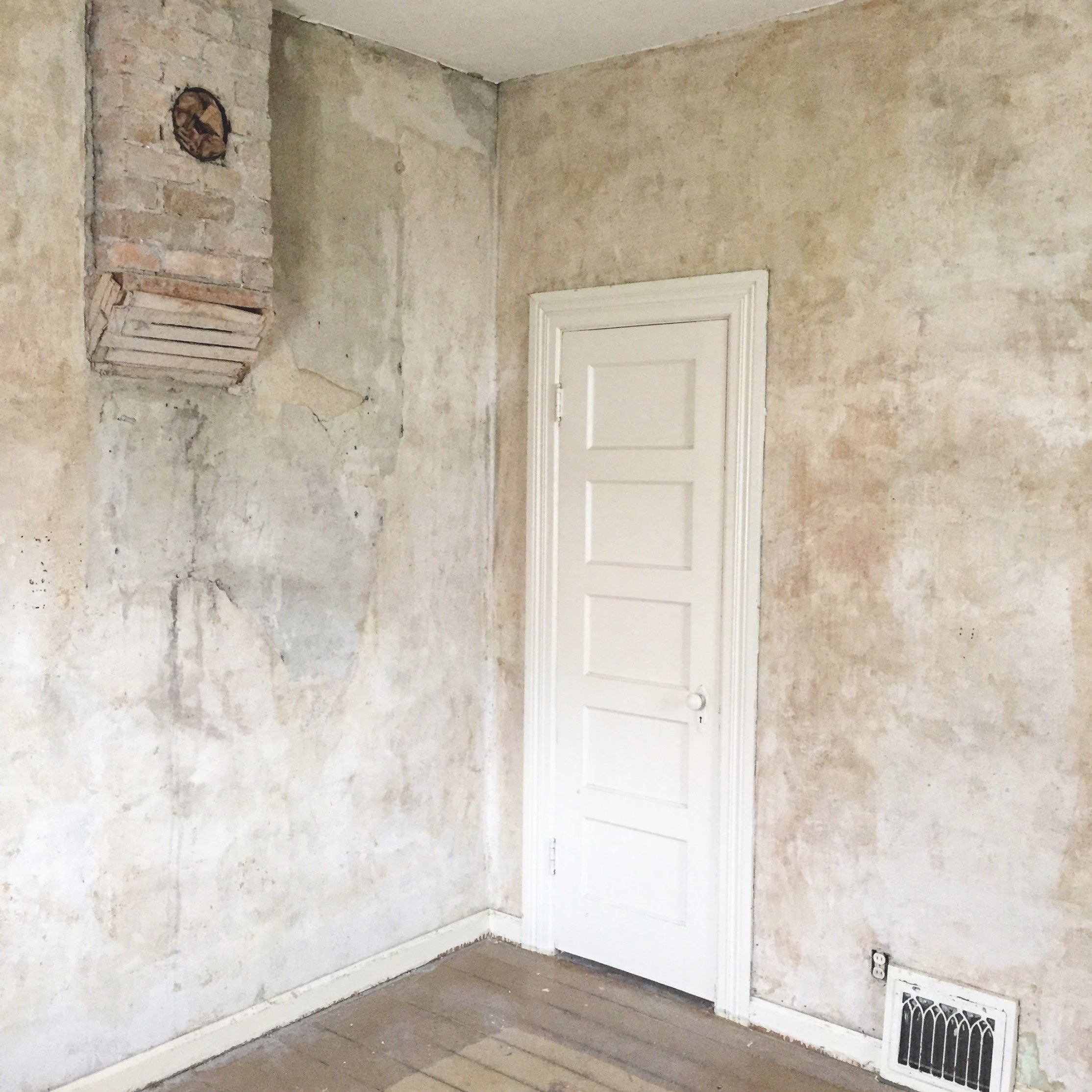 What To Do With Old Plaster Walls - The Schmidt Home in Plaster Walls